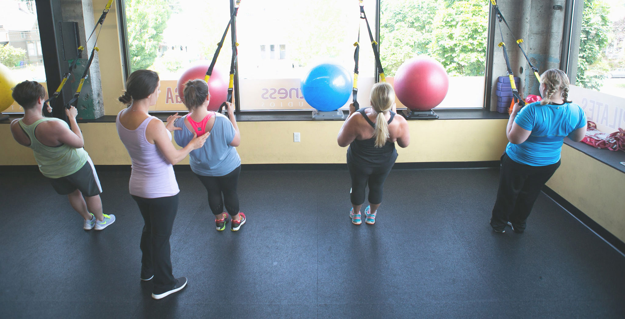 TRX Group Training with Reclaim Health